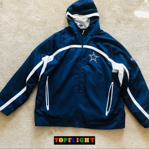 Dallas Cowboys Vintage Reebok Pullover Hoodie XL